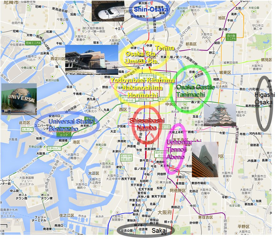 The Map Of Universio Studio In Osaka Check Out The Map Of